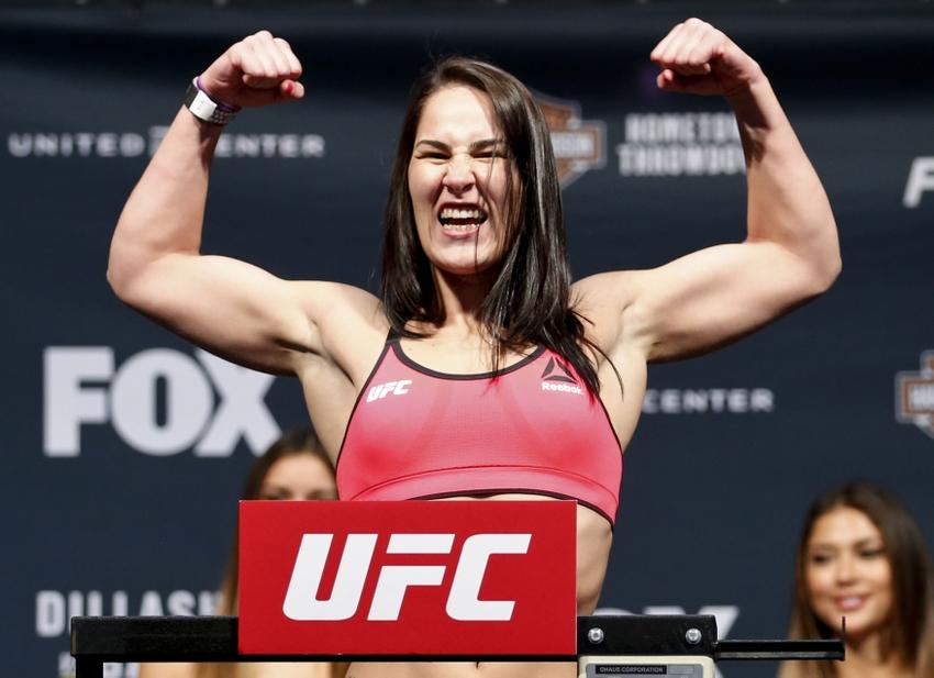 Andrea Lee vs Jessica Eye set for UFC Fight Night on November 13 - eye